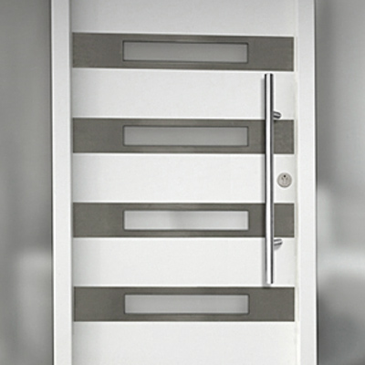 Modern exterior interior doors front doors in chicago Modern white front door
